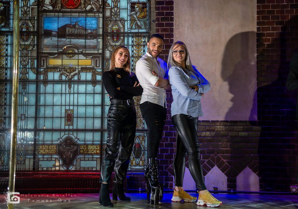 Sędziowie Sensual Championship 2019 - Anastasia Skukhtorova, Mario Turco i Karolina Stelmach-Grzywaczewska.